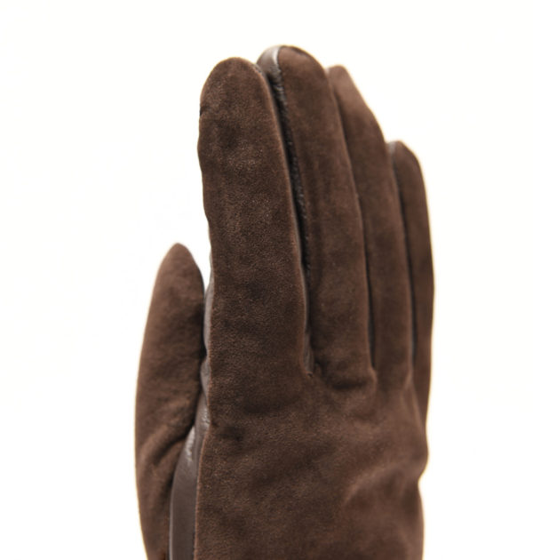 Quilted Glove - Brown