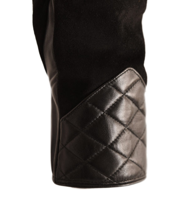 Quilted Glove - Black